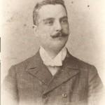 Il maestro Marchetti nel 1914